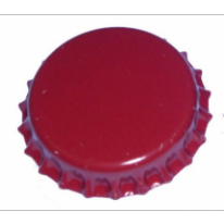 Crown Corks 29mm RED 100 pcs